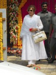 Helen At Salman Khan's 'Ganesh Visarjan' Celebration