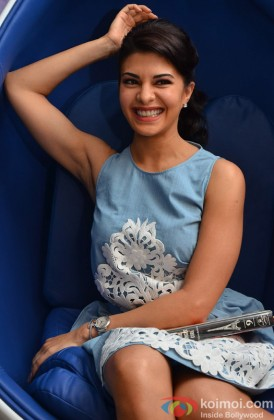 Jacqueline Fernandez Flashes Her Beautiful Smile