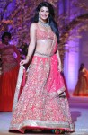 Jacqueline Fernandez Walks The Ramp At Aamby Valley India Bridal Fashion Week 2013