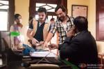 Jimmy Shergill and Saif Ali Khan in Bullett Raja Movie Stills Pic 1
