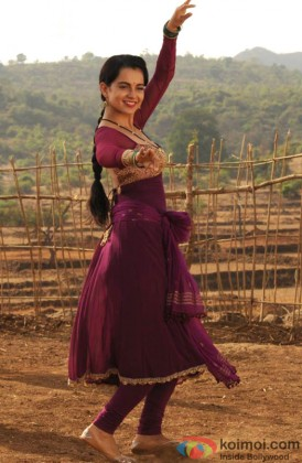 Kangana Ranaut Giving A Dance Pose