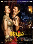 Kangana Ranaut and Paras Arora in Rajjo Movie Poster