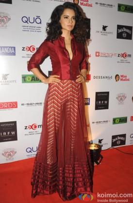 Kangana Ranaut at the 3rd Edition of India Resortwear Fashion Week (IRFW) 2013