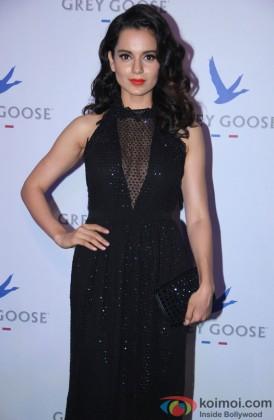 Kangana Ranaut during the Grey Goose Style Du Jour 2013