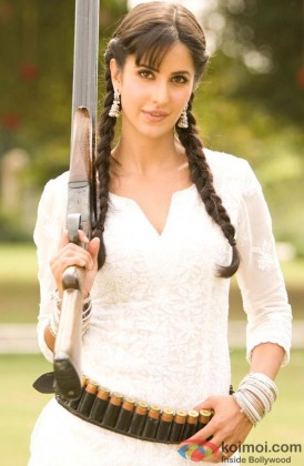 Katrina Kaif Looking Pretty In A Still From Her Film