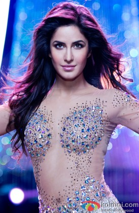 Katrina Kaif in a still from Dhoom 3