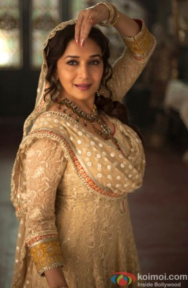 Madhuri Dixit Nene In A Dance Still From Dedh Ishqiya