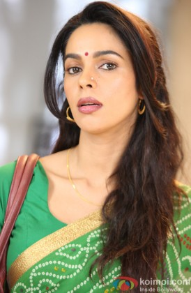 Mallika Sherawat Snapped In A Traditional Avatar