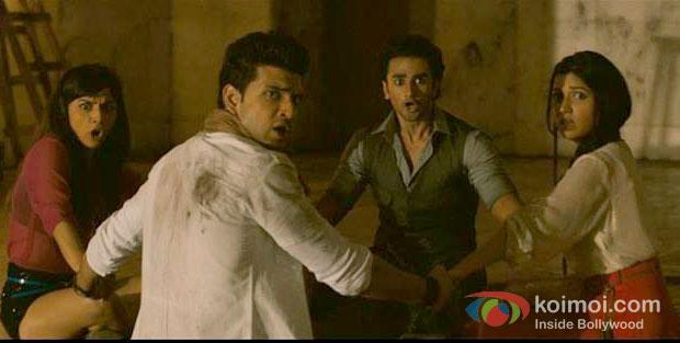 Nandini Vaid, Nishant Malkani, Ravish Desai in Horror Story Movie Stills