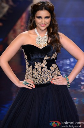 Parineeti Chopra Looking Beautiful In Black