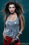 Payal Rohatgi sizzles in a silver shimmer top