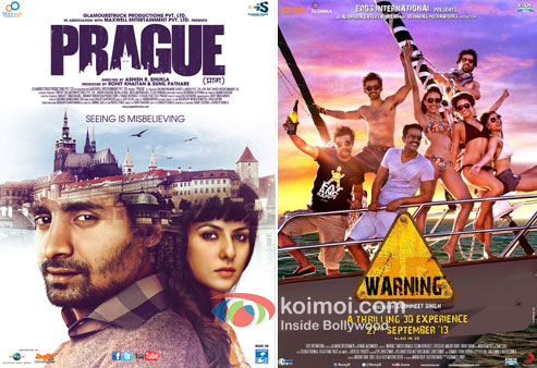 Prague and Warning 3D Movie Poster
