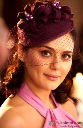 Preity Zinta Looking Beautiful In A Movie Still