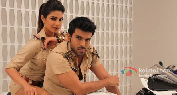 Priyanka Chopra And Ram Charan Teja in Zanjeer 2013 Movie Stills