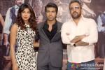 Priyanka Chopra, Ram Charan Teja And Apoorv Lakhia Promote 'Zanjeer' In Delhi Pic 2