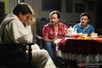 Raj Babbar, Saif Ali Khan and Jimmy Shergill in Bullett Raja Movie Stills