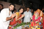 Raj Kundra At Shilpa Shetty's 'Ganesh Visarjan' Celebration