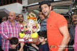 Rakesh Roshan At Hrithik Roshan's 'Ganesh Visarjan' Celebration Pic 1