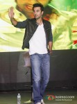 Ranbir Kapoor At The Launch Of Besharam's New Song 'Aa Re' Pic 3