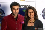 Ranbir Kapoor and Neetu Kapoor promote 'Besharam' on KBC 7