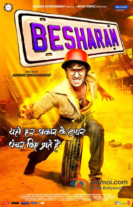 Ranbir Kapoor in Besharam Movie New Poster Pic 2
