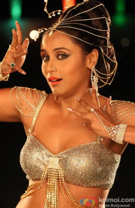 Rani Mukerji In A Dance Pose From A Song