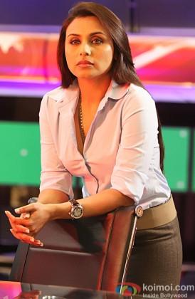 Rani Mukerji In A Deep Thought