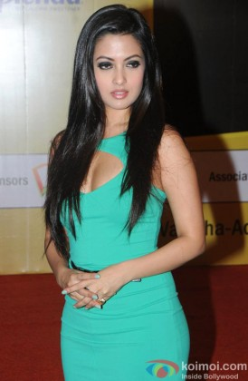 Riya Sen at the Gold's Gym Fit and Fab contest