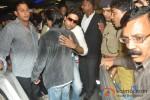 Shah Rukh Khan And Abhishek Bachchan return from Dubai Pic 2