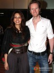 Shama Sikandar And Alex Attend 'Riddick' Premiere