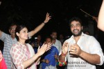 Shamita Shetty And Raj Kundra At Shilpa Shetty's 'Ganesh Visarjan' Celebration