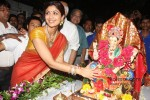 Shilpa Shetty's 'Ganesh Visarjan' Celebration