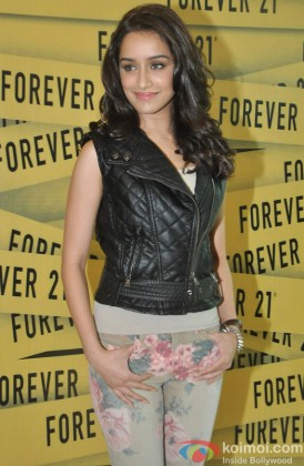 Shraddha Kapoor during the launch of international fashion brand Forever 21 store