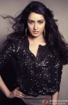 Shraddha Kapoor stuns in shimmery black top