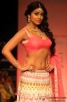 Shriya Saran walks the ramp at Lakme Fashion Week Winter Festive 2013