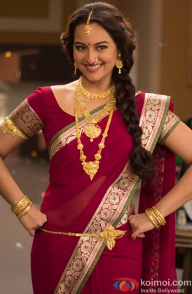 Sonakshi Sinha In A Traditional Avatar
