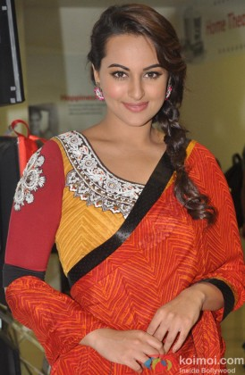 Sonakshi Sinha during the launch of 'R… Rajkumar' Comic Book