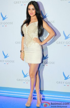 Sonal Chauhan Sizzles In White