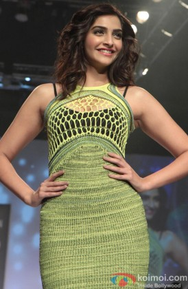 Sonam Kapoor walks the ramp at Signature International Fashion Week