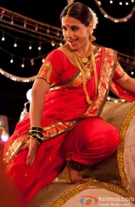 Stunning Vidya Balan In Her 'Lavani' Avavtar