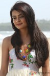 Surveen Chawla Snapped Smiling To Herself