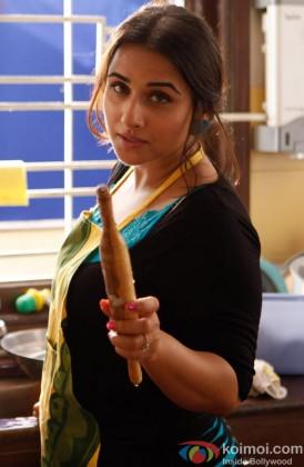 Vidya Balan Gives A Serious Pose