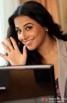 Vidya Balan Flaunts Her Smile