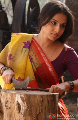 Vidya Balan In A Serious Still Form Her Film
