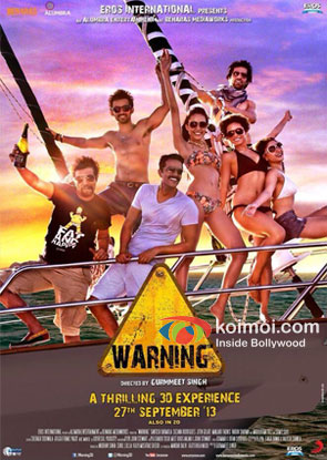 Warning 3D Movie Review (Warning 3D Movie Poster)