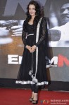 Yuvika Chaudhary at the music launch of film Enemmy