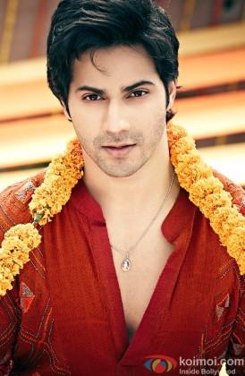 A Handsome Varun Dhawan Looks On