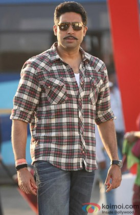Abhishek Bachchan In His 'Bol Bachchan' Look