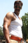 Ajay Devgn Gives An Angry Stare