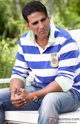 Akshay Kumar In A Still From Entertainment